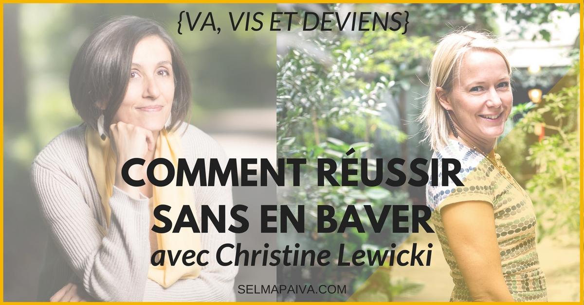 La France est vue comme un pays où on râle beaucoup, mais on peut réussir sans en baver ! Christine Lewicki nous explique comment.