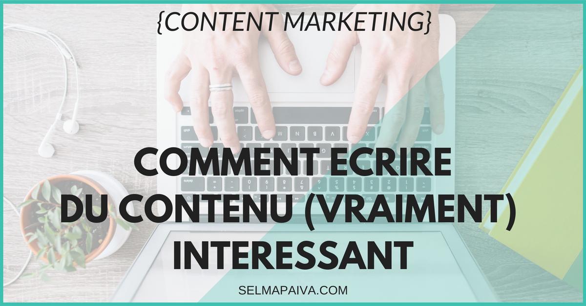 Comment réussir son #marketing de #contenu ? Pour intéresser ses lecteurs, développer son business ? 3 problèmes majeurs + leurs solutions :-)