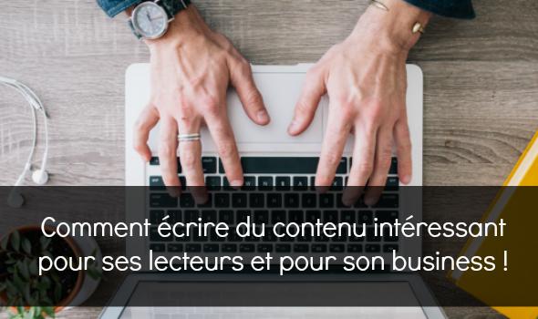 Comment réussir son marketing de contenu ? Pour intéresser ses lecteurs, développer son business ? Les 3 problèmes majeurs, et leurs solutions :-)